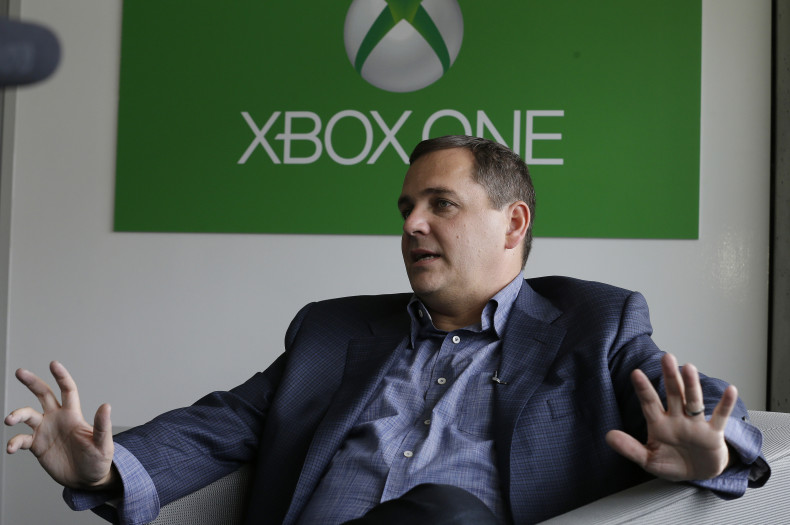 Marc Whitten, Microsoft Corp.'s chief production officer of interactive entertainment, poses for a photo before an AP interview about the features of the next-generation Xbox One entertainment and gaming console system, Tuesday, May 21, 2013, at an event in Redmond, Wash. (AP Photo/Ted S. Warren)